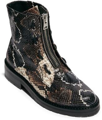 AllSaints Ariel Top Zip Boot