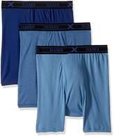 Hanes Men's Ultimate 3-Pack X-Temp Comfort Assorted Boxer Briefs