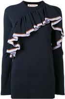 Marni knitted ruffle sweater - women - Polyamide - 40
