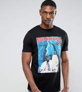 Asos Tall Notorious Big Longline Band T-Shirt