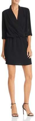 Amanda Uprichard Venus Crossover Mini Dress