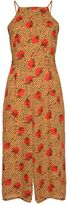 Glamorous **Leopard Poppy Culottes Style Jumpsuit