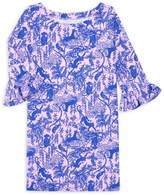 Lilly Pulitzer Little Girl's & Girl's Sophie UPF 50+ Ruffle-Sleeve Dress