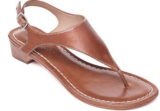 Bernardo Demi-Wedge Thong Sandals