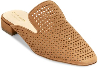 Cole Haan Paula Perforated Loafer Mule