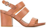 Buttero block heel sandals - women - Calf Leather/Leather - 37.5