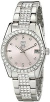 Jivago Women's JV6414 Magnifique Analog Display Quartz Silver Watch