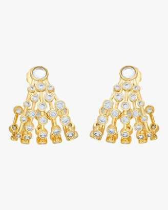 Isharya Modern Maharani Curved Earrings