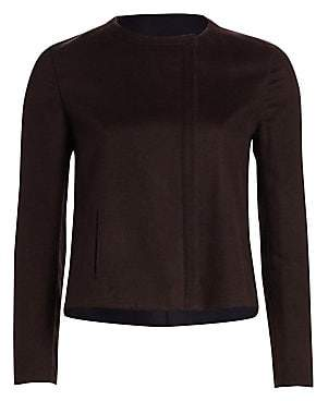 Akris Women's Camila Reversible Double-Face Silk Jacket
