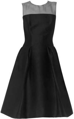 Carolina Herrera Sleeveless A-Line Cocktail Dress