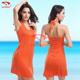 Sexy & goddess Super Sexy L- Size Summer Beach Wrap Shirt Dress Beach Cover Up Dresses
