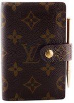 Louis Vuitton Monogram Mini Ring Agenda Cover w/ Pencil