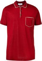 Salvatore Ferragamo chest pocket polo shirt - men - Cotton - S