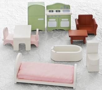 Pottery Barn Kids Dollhouse Furniture Starter Set