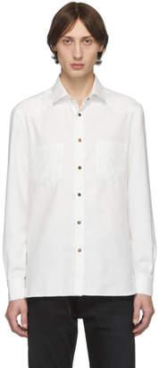 eidos White Washed Western Shirt