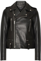 Joseph Ryder Leather Biker Jacket - Black