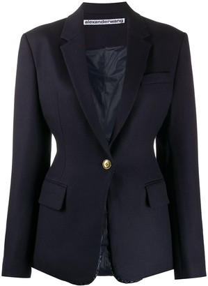 Alexander Wang Tailored Single-Breasted Blazer