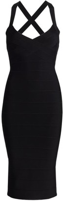 Herve Leger Icon Midi Dress