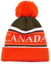 Canada Goose Men's Merino Wool Logo Pom-Pom Cap