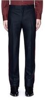 Givenchy Velvet stripe wool pants