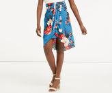 Oasis Rose Draped Skirt