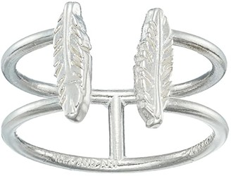 Alex and Ani Feather Ring (Sterling Silver) Ring