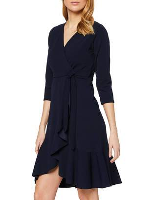 Yumi Women's Wrap Front Dress Cocktail