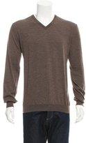 Malo Virgin Wool V-Neck Sweater
