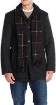 Dockers Wool Melton Walking Coat with Scarf