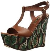 Casadei Women's Safari Wedge Sandal
