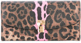 Dolce & Gabbana leopard print wallet - women - Cotton/Polyester/Polyurethane - One Size