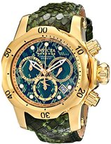 Invicta Women's 14968 Venom Analog Display Swiss Quartz Green Watch
