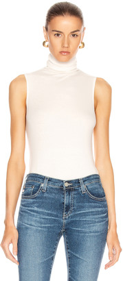 AG Jeans Sleeveless Chel Top in Ivory Dust | FWRD
