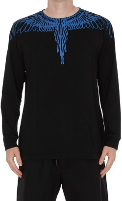 Marcelo Burlon County of Milan Pictorial Wings Long Sleeves T-shirt