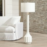 Crate & Barrel Prism Outdoor Floor Lamp
