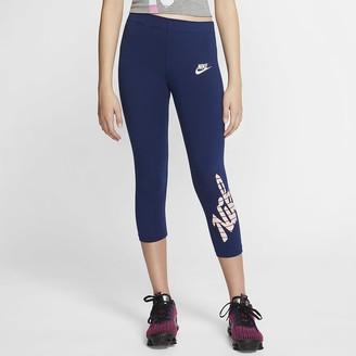 Nike Big Kids' (Girls') Leggings Sportswear