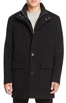 Cole Haan Wool Cashmere Car Coat