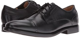 Dockers Hawley Cap Toe Oxford (Black Polished Full Grain) Men's Lace up casual Shoes