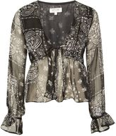 **Nevada Traveller Paisley Print Blouse by WYLDR