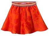 Le Big Orange Brandy Skirt with Glitter Waistband