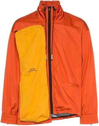 A-Cold-Wall* Logo Print Asymmetric Jacket