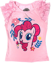 Freeze Pink My Little Pony Peasant Top - Girls