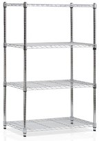 "Furinno Wayar 54"" H Heavy Duty Wire Four Shelve Unit"