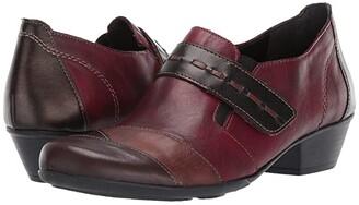Rieker Milla 04 (Schwarz/Fumo/Ozean/Cerise) Women's Shoes