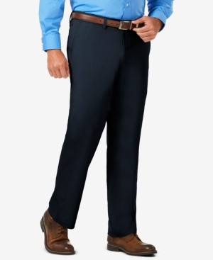 Haggar J.m. Men's Luxury Comfort Classic-Fit Performance Stretch Casual Pants