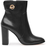 Reiss Hepworth Block Heel Booties