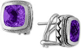 Effy BALISSIMA by Amethyst Earrings (4-1/10 ct. t.w.) in 18k Gold and Sterling Silver