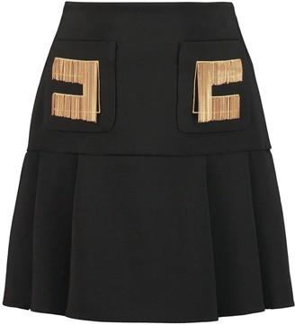 Elisabetta Franchi Celyn B. Pleated Mini Skirt