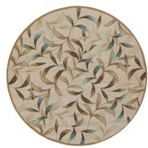 Couristan Spring Vista Indoor/outdoor Round Rug