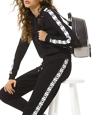 MICHAEL Michael Kors Mesh Zippered Jacket